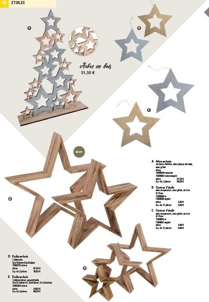 Pro-G Créa - Etoile en bois