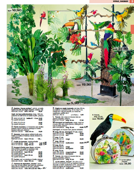Pro-G Crea - Décoration Jungle Fôret tropicale
