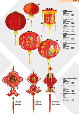 Pro-G Crea - Décoration lanterne chinoise