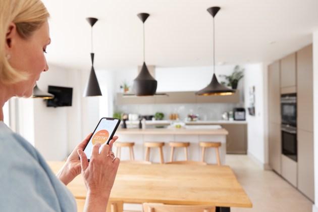 """Lo smartphone può essere una delle interfacce attraverso cui """"dialogare"""" con la casa"""