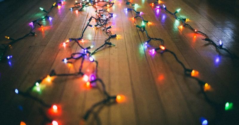 le luci di Natale gestite con la domotica