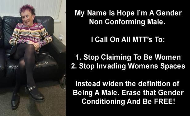 men in pink uomo gender non conforming