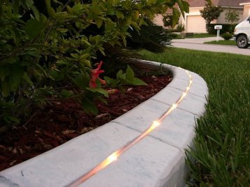 Lighted Kwik Kerb