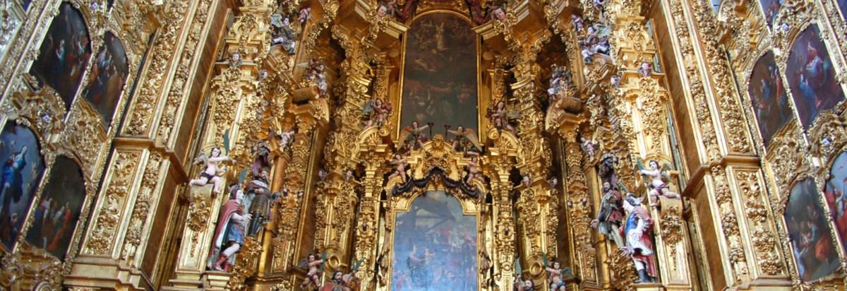 Resultado de imagen para retablo catedral mexico dc