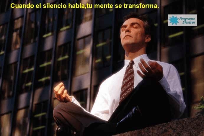 Cuando el silencio habla la mente se transforma