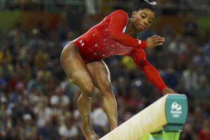 Simone Biles pierde el oro en barra- Rio 2016