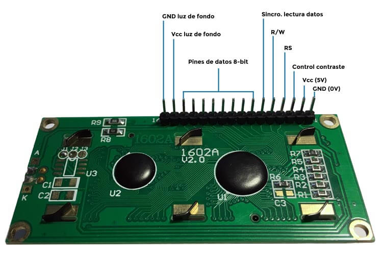 Pines LCD 16x2