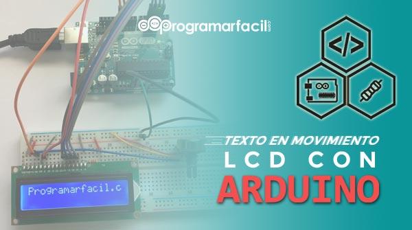 LCD con Arduino