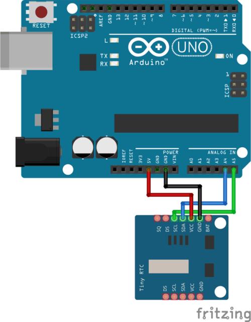 Tiny RTC Arduino