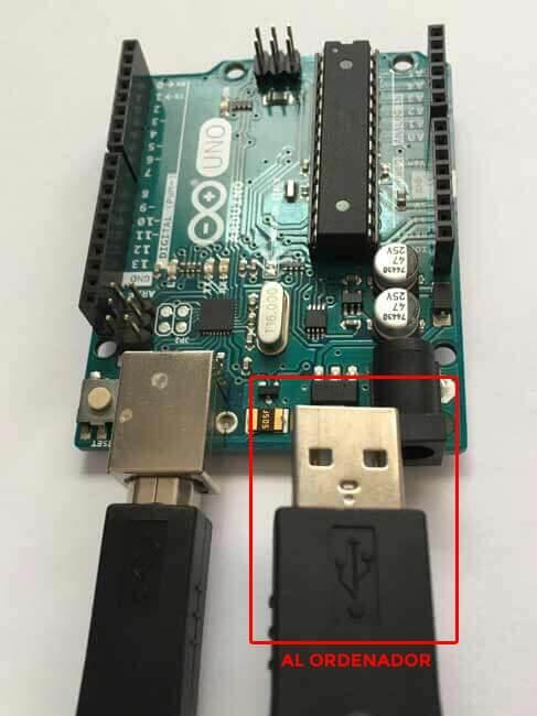 Conector USB Arduino UNO