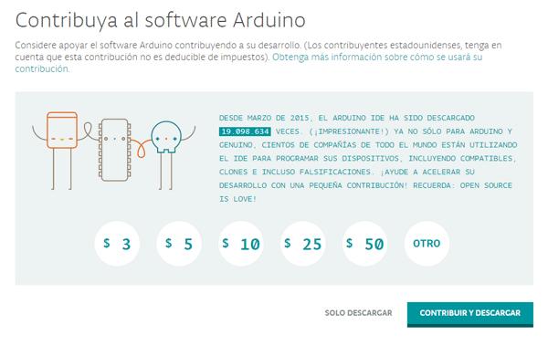 Contribuir con Arduino