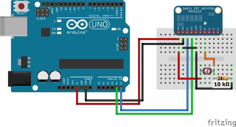 ads1115 Arduino UNO