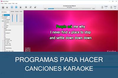 Programas para hacer canciones Karaoke Gratis