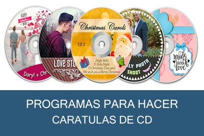 Programas para hacer Caratulas de CD Gratis