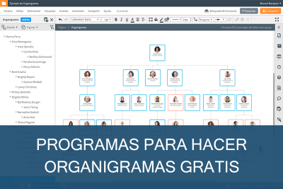 Programas para hacer Organigramas Gratis