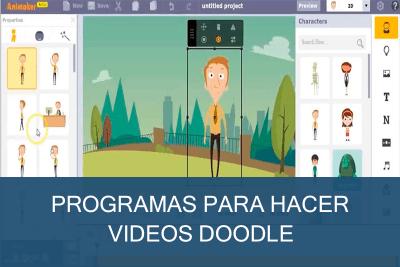 Programas para hacer vídeos doodle Gratis