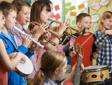 Benefits of children learning a musical instrument