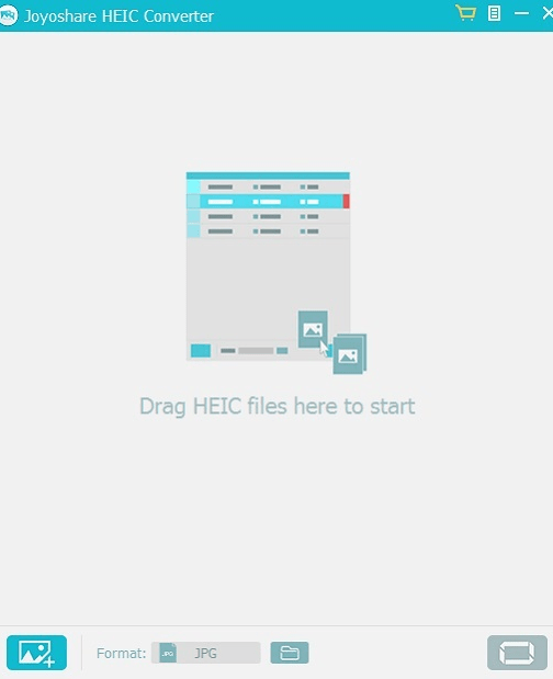 Joyoshare HEIC Converter for Windows pic 1