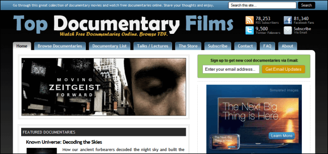 #13. Top Documentary Films