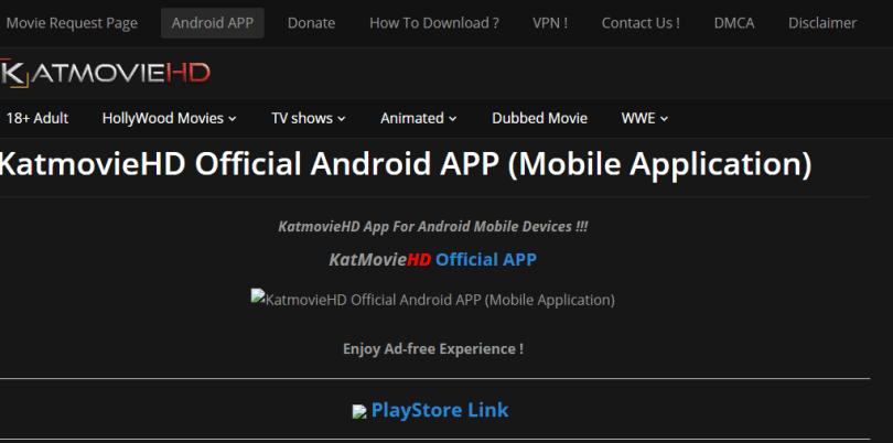 KatmovieHD App