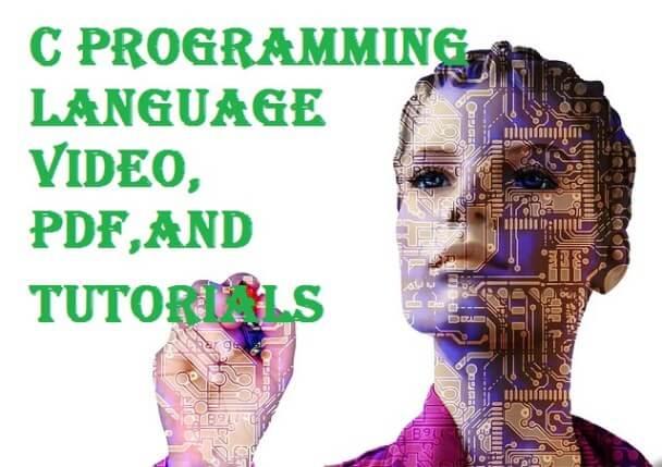 free download latest c programming language Video, PDF tutorials