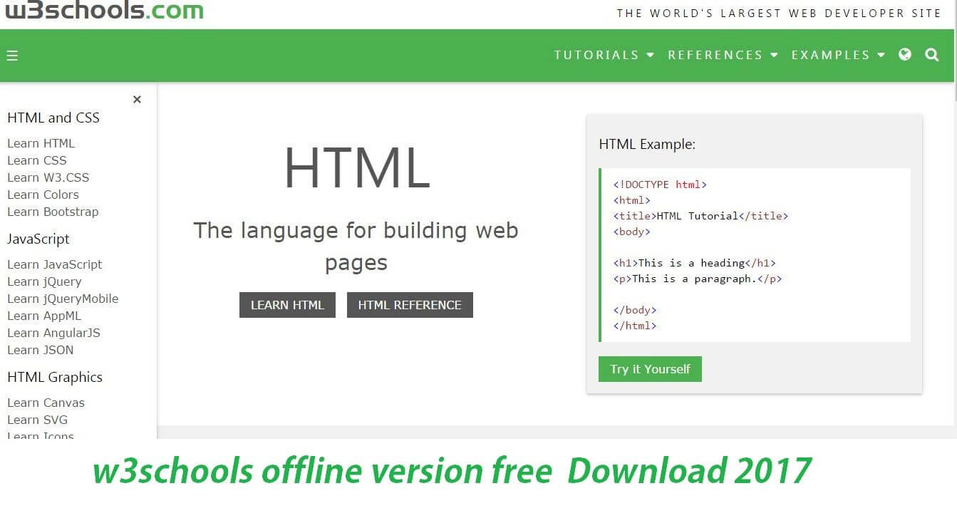w3schools offline version free pdf ebook apk Download {2017}