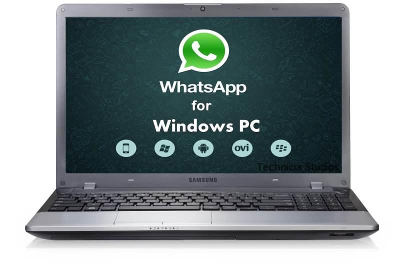 pc whatsapp download window 7
