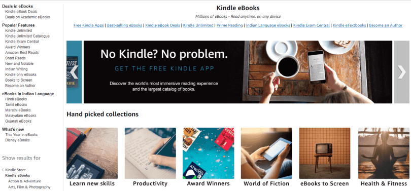 Amazon Free Kindle Books