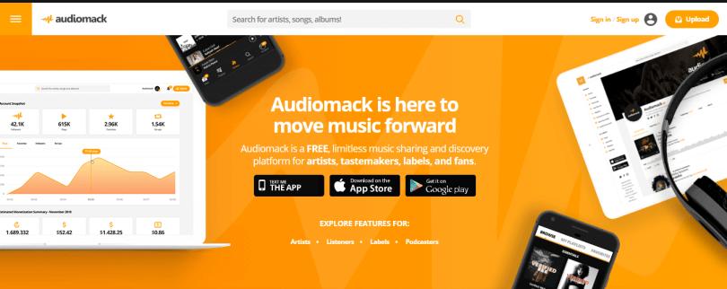 7. Audiomack