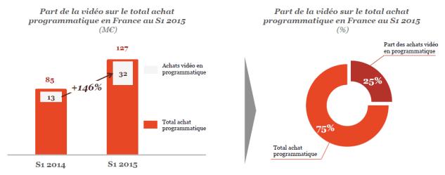 La vidéo représente 25% des achats programmatiques en France - Observatoire de l'epub 2015