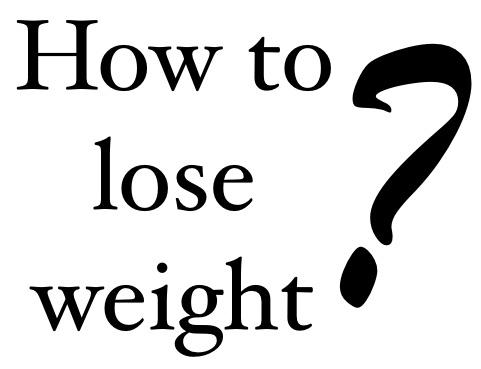 Comment perdre le gras