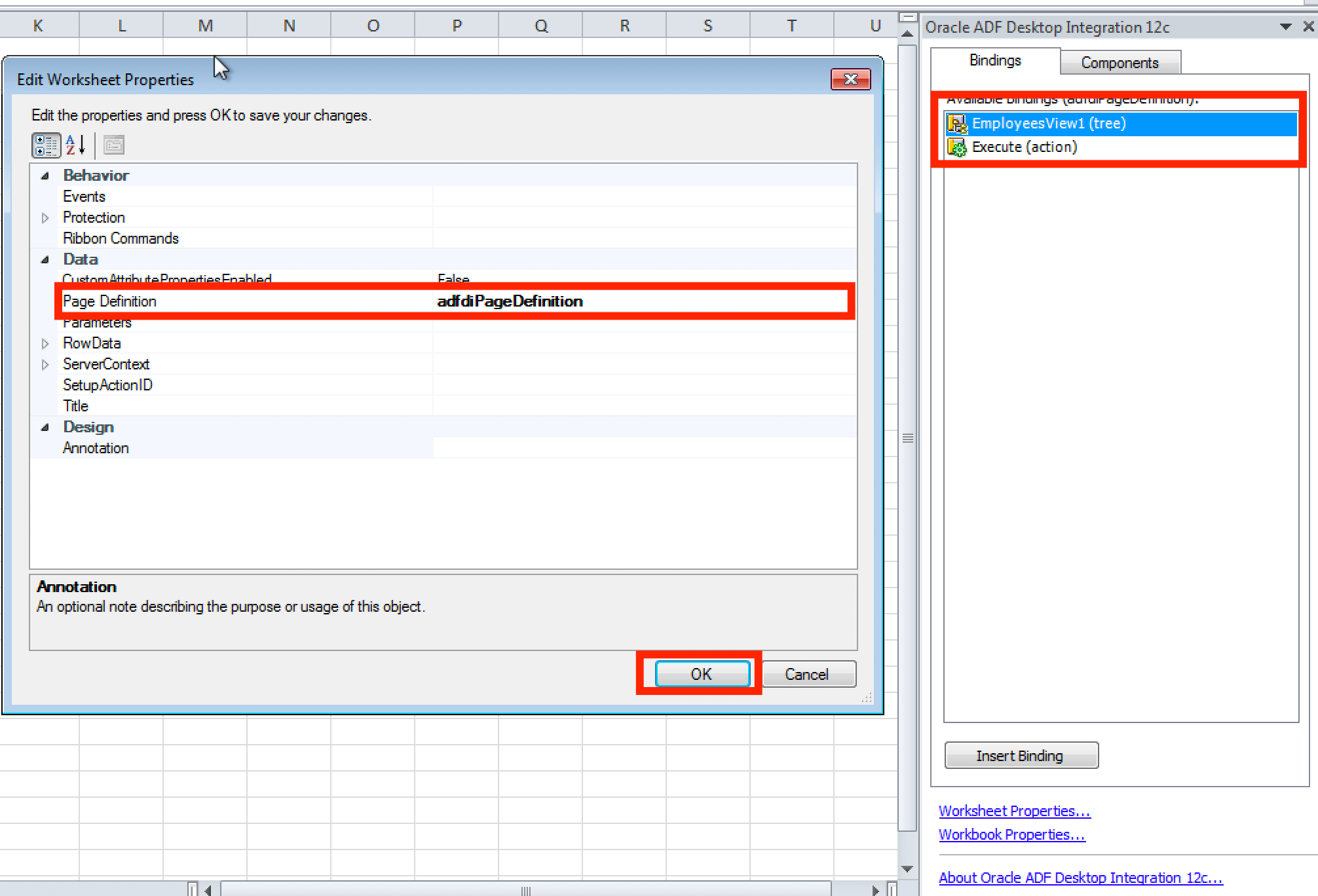 How To Create Adf Desktop Integration Adfdi Excel