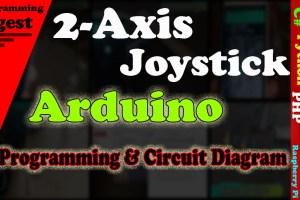 2-Axix Joystick