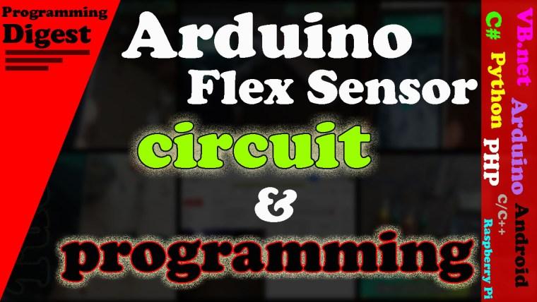 Arduino Flex Sensor