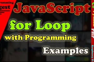 JavaScript for loop