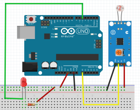 Photoresistor or LDR Arduino based Projects