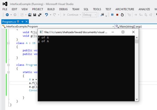 C# interface