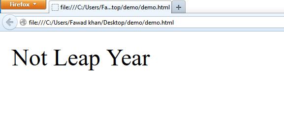 JavaScript if