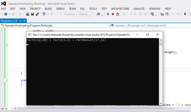 C# Operator overloading