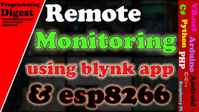 Blynk app