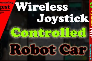wireless joystick