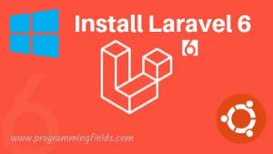 Laravel Install