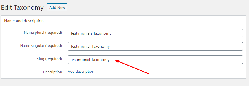 Find Taxonomy Name