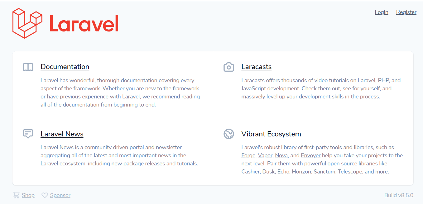 Laravel 8 Dashboard with Login and Registration