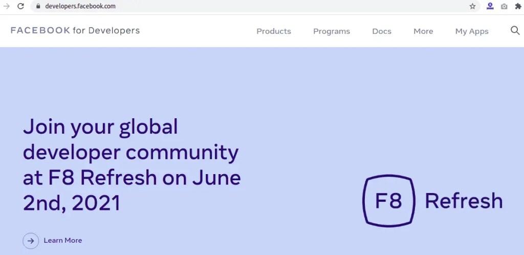 Facebook For Developers - Facebook Login