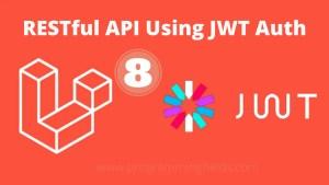 RESTful API using jwt authentication