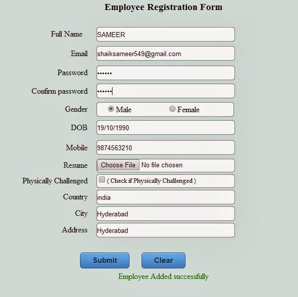 Registration form in Asp.Net / C#.Net winforms using 3-tier ...