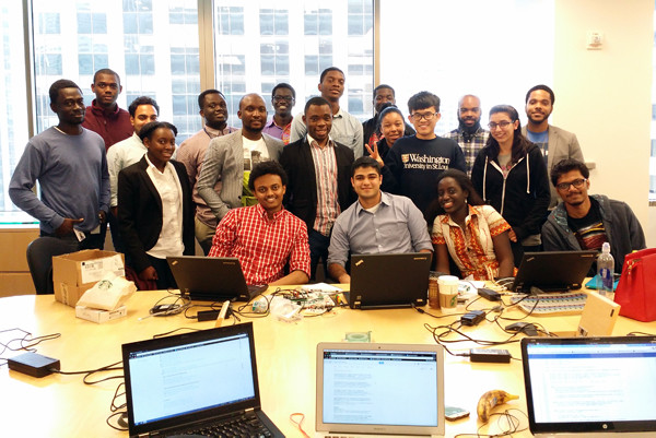 The IBM Analytics Emerging Technologies LEADing to Africa Students.