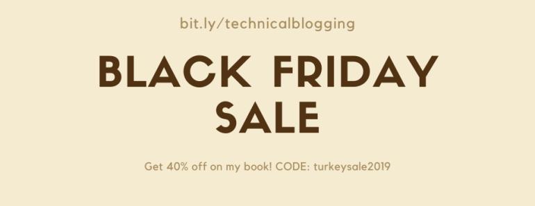 Technical Blogging book sale