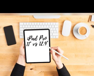 """iPad Pro 11"""" vs 12.9"""""""